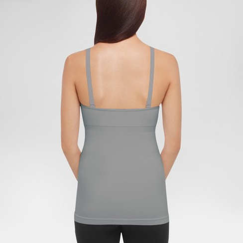 17d762cb022 Medela® Women s Slimming Nursing Cami With Removable Pads - Light Heather  Gray L   Target