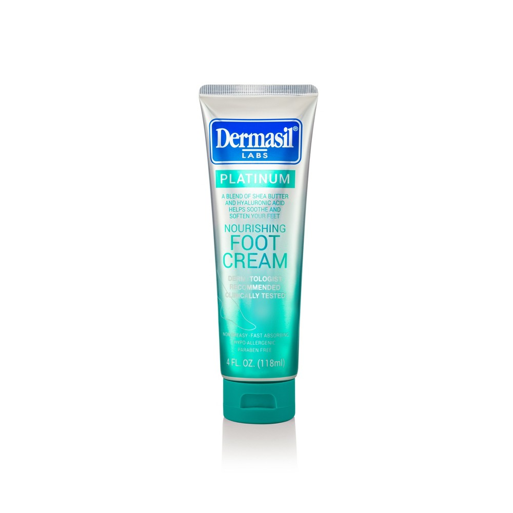 Image of Dermasil Platinum All Day Nourishing Foot Cream - 4 fl oz