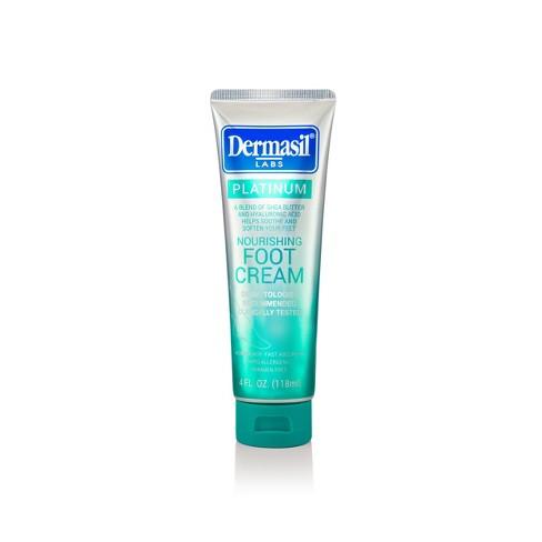 Dermasil Platinum All Day Nourishing Foot Cream - 4 fl oz - image 1 of 3