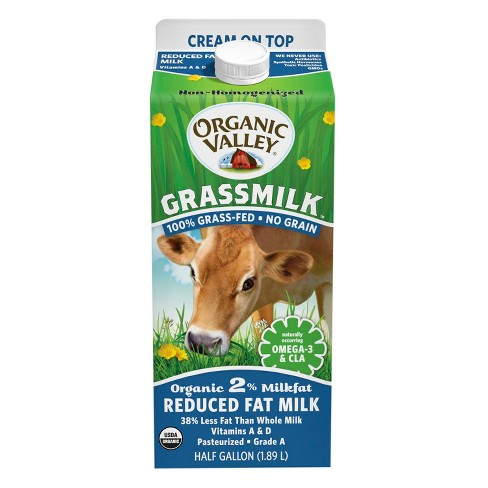 Organic Valley Reduced Fat Milk - 64oz - image 1 of 1