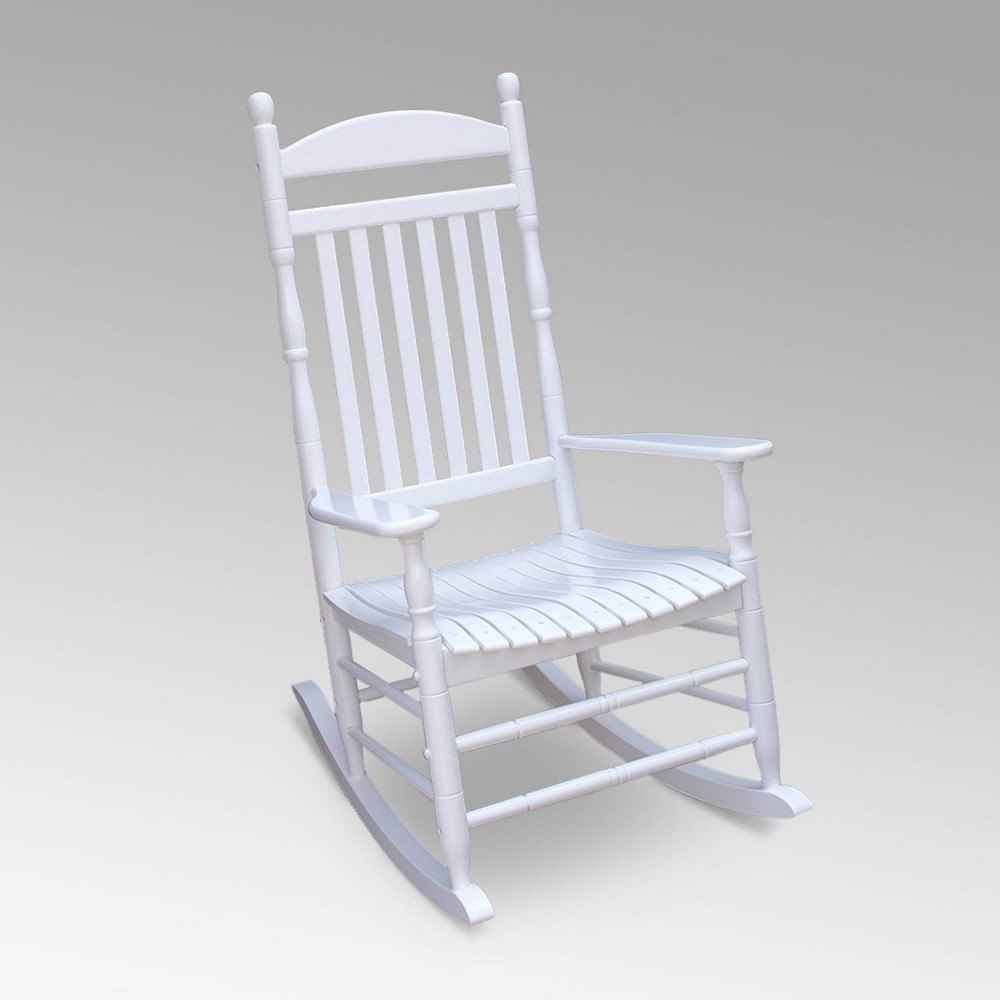 Image of Alston Outdoor Patio Porch Rocking Chair - White - Cambridge Casual