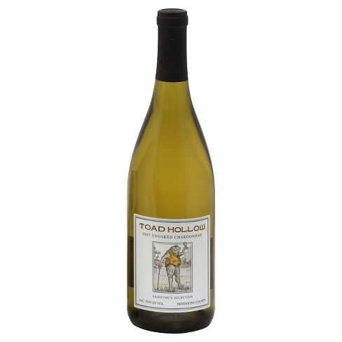 Toad Hollow Chardonnay White Wine - 750ml Bottle - image 1 of 1