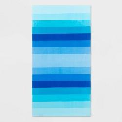 Basics Ombre Stripe Beach Towels - Sun Squad™