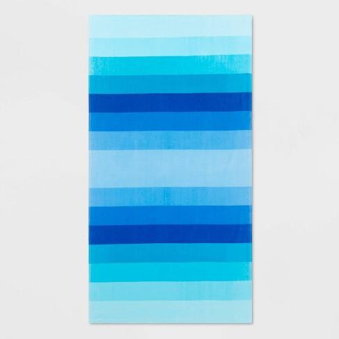 Basics Ombre Stripe Beach Towels - Sun Squad™ - image 1 of 1