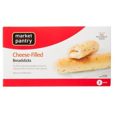 Cheese Filled Frozen Breadsticks - 12oz - Market Pantry™