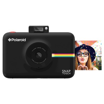 Polaroid Snap Touch Black Instant Print Digital Camera with 3.5  Touchscreen Display