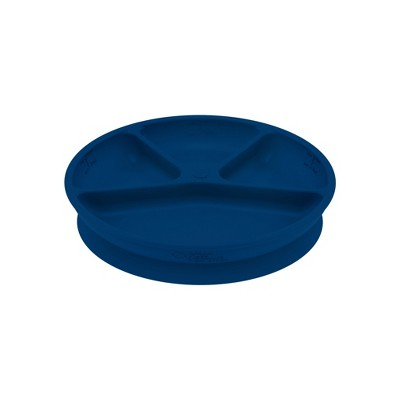 green sprouts Learning Dining Plate - Navy