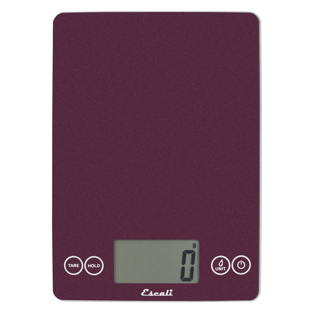 Image of Escali Glass Arti Digital Kitchen Scale Purple