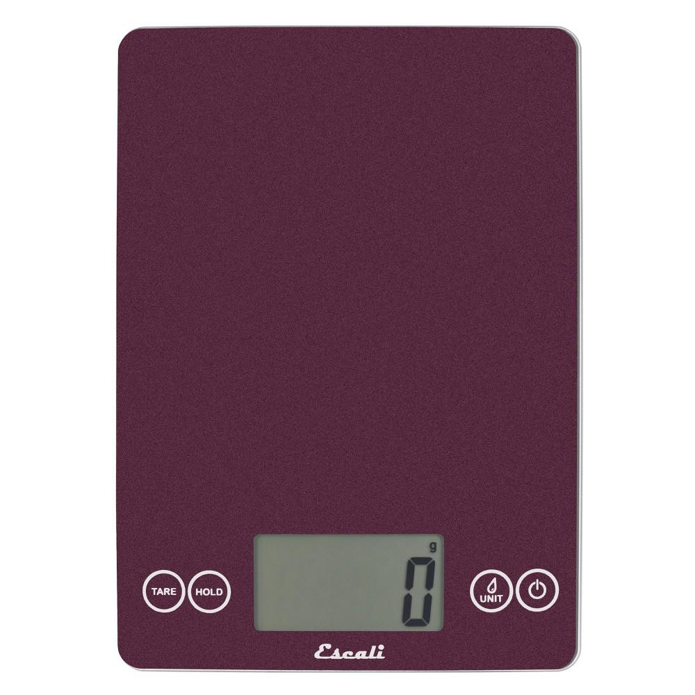 Image of Escali Glass Arti Digital Kitchen Scale Purple