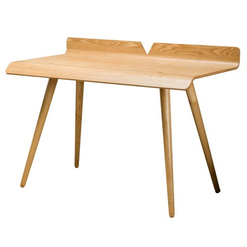 Parma Wood Desk Natural - Christopher Knight Home - image 1 of 4