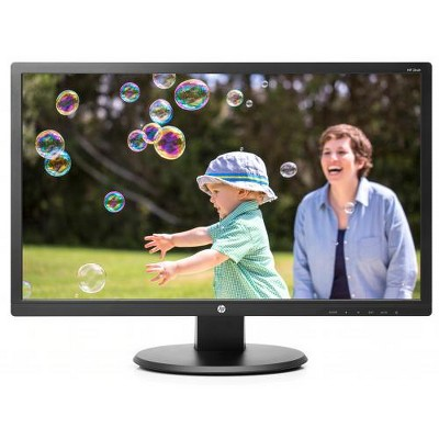 "HP 24uh 24"" Monitor Black - 1920 x 1080 Full HD TN display - 60 Hz refresh rate - 5 ms response time - 16:9 aspect ratio - LED Backlight technology"