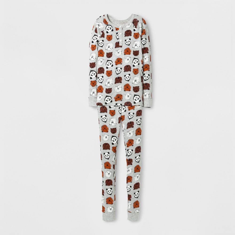 Boys Pajama Set Cat Jack 8482 Gray 10