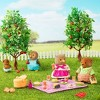 Li'l Woodzeez Miniature Playset with Animal Figurine 29pc - Picnic Set - image 3 of 4