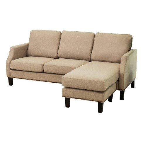 Astonishing Austin Reversible Sofa Sectional Light Gray Abbyson Caraccident5 Cool Chair Designs And Ideas Caraccident5Info