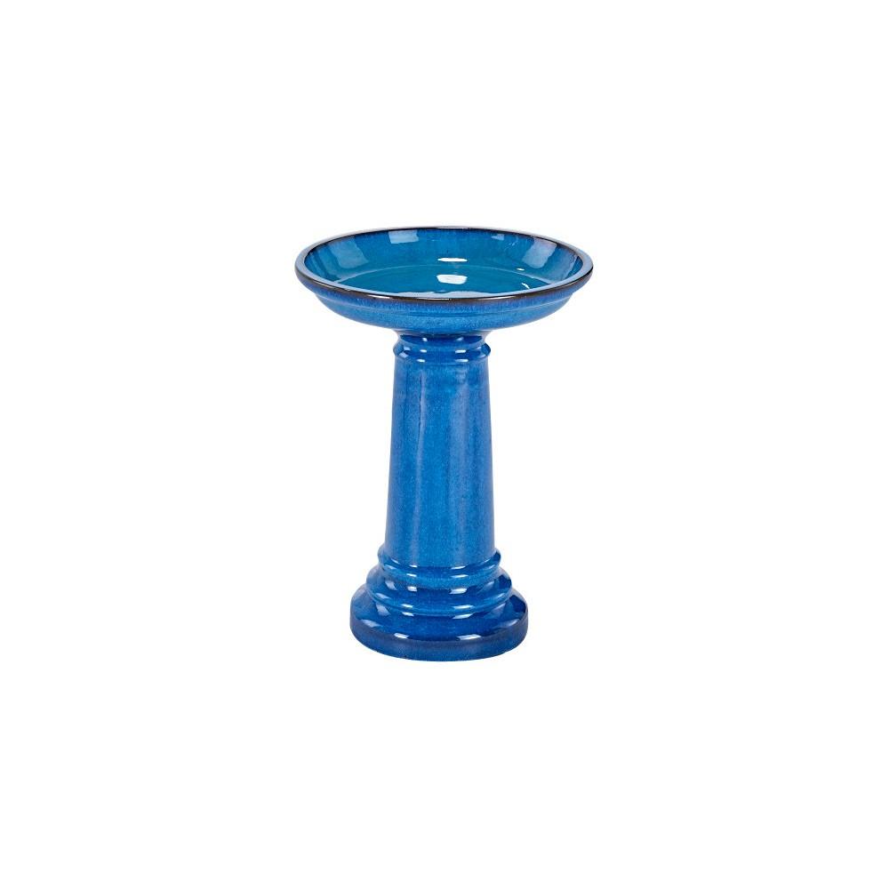 24 Aviatra Ceramic Birdbath - Blue Transitions - Smart Living