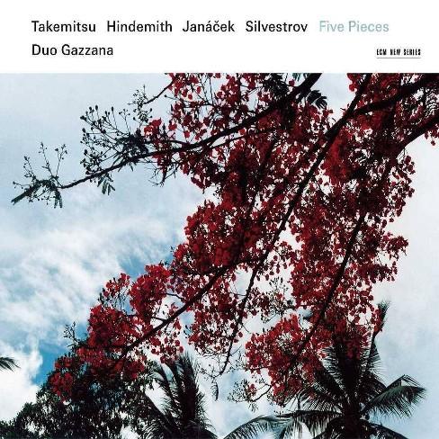 Duo Gazzana - Takemitsu/Hindemith/Janacek/Silvestrov: Five Pieces (CD) - image 1 of 1