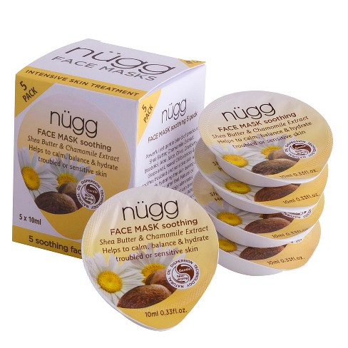 ngg Soothing Face Mask with Shea Butter & Chamomile Extract - 5ct - image 1 of 5