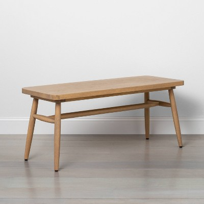 Shaker Dining Bench Natural - Hearth & Hand™ with Magnolia