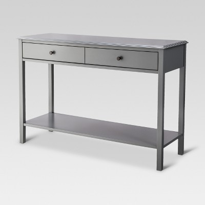 Windham Console Table Gray - Threshold™