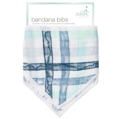 aden by aden + anais Bib Set - Blue