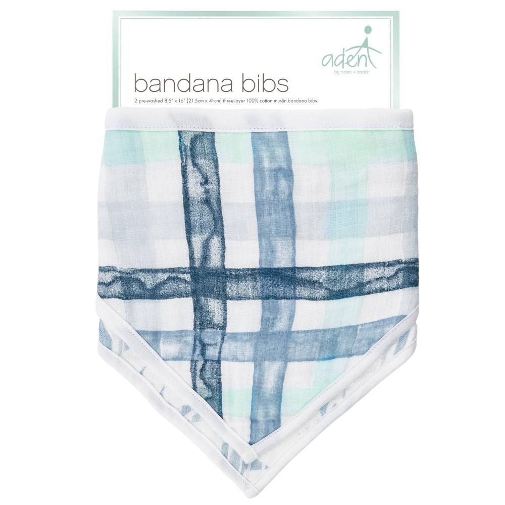 Image of aden by aden + anais Bib Set - Blue