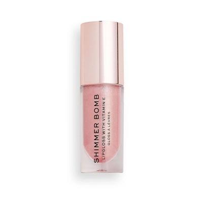 Makeup Revolution Shimmer Bomb Lip Gloss - 0.17 fl oz