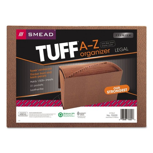 Smead Heavy-Duty A-Z Expanding File 21 Pocket Legal Redrope Printed 70320 - image 1 of 4