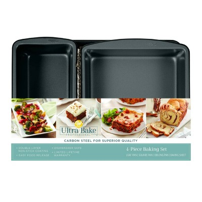 Wilton Ultra Bake Pro 4pc Bakeware Set