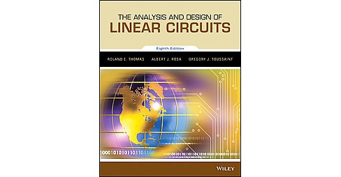 Analysis and Design of Linear Circuits (Paperback) (Roland E. Thomas) - image 1 of 1