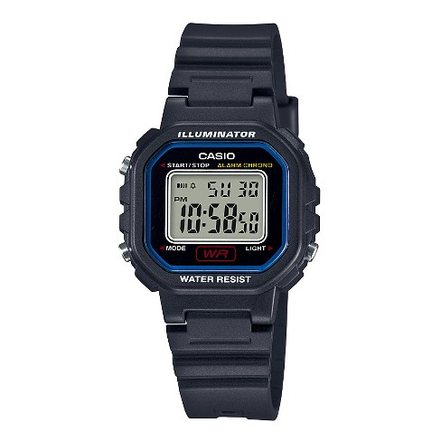 Women's Casio Large Square digital Resin Watch - Black - image 1 of 1