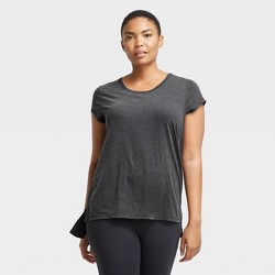 Women's Cap Sleeve Perforated T-Shirt - All in Motion™