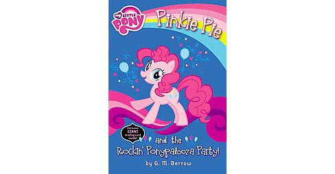 Pinkie Pie and the Rockin' Ponypalooza Party! (Paperback) (G. M. Berrow) - image 1 of 1