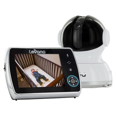 LEVANA® Keera™ 3.5'' PTZ Digital Baby Video Monitor with Picture and Video Recording
