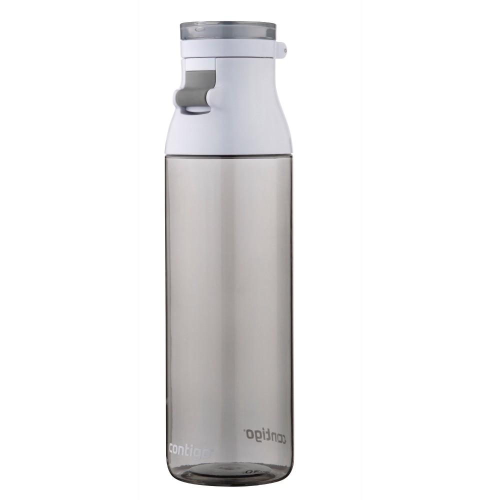 Contigo 24oz Jackson Water Bottle White/Clear, Citron