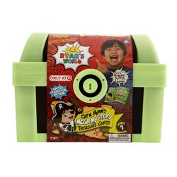 Ryan's World Cap'n Ryan's Glow-In-The-Dark Mega Mystery Treasure Chest (Target Exclusive)