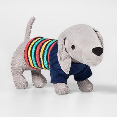 Weiner Dog Gray Throw Pillow - Pillowfort™
