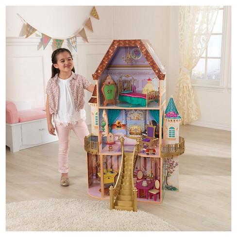 Kidkraft Disney Beauty And The Beast Enchanted Dollhouse Target