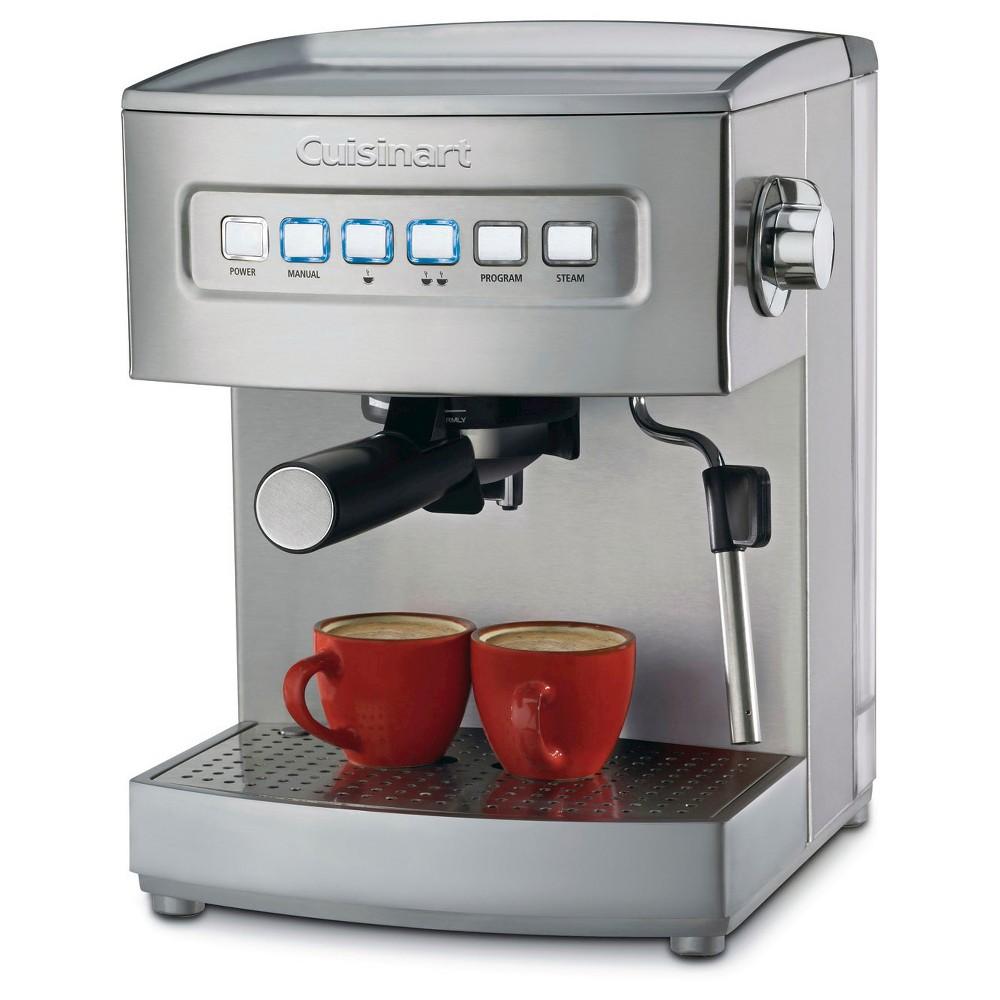 Cuisinart Programmable Espresso Maker - Stainless Steel EM-200, Grey