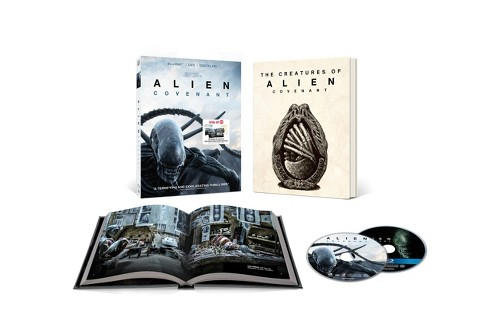 Alien: Covenant Target Exclusive (Blu-ray + DVD + Digital) - image 1 of 2