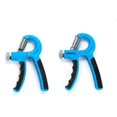 Mind Reader Hand Grip Strengthener Forearm Gripper, 2 Pack