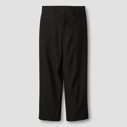 Boys' Suit Pants - Cat & Jack™ Black - image 1 of 3