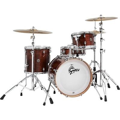 Gretsch Drums Catalina Club Jazz 4-Piece Shell Pack Walnut Glaze
