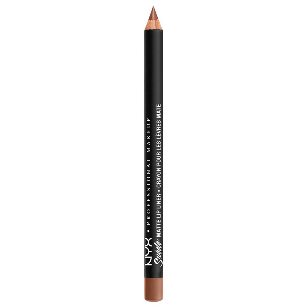 Nyx Professional Makeup Suede Matte Lip Liner Soft Spoken 0 035oz