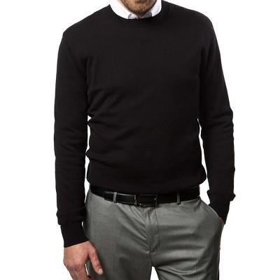 Mio Marino - Men's Winter Crew Lightweight Pullover Sweater