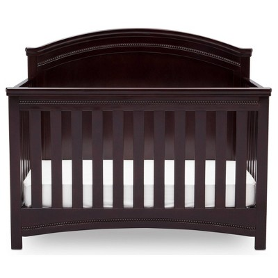 Simmons Kids SlumberTime Emma Convertible Crib 'N' More - Black Espresso