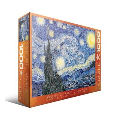 EuroGraphics Vincent Van Gogh: Starry Night Jigsaw Puzzle - 1000pc