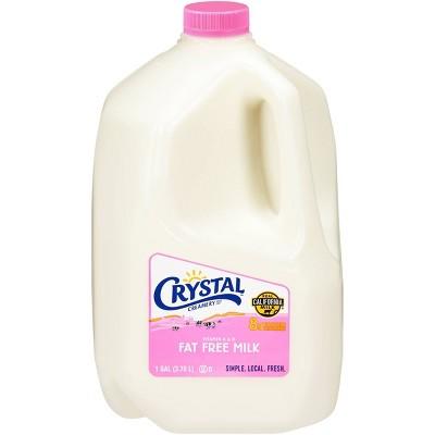 Crystal Creamery Skim Milk - 1gal