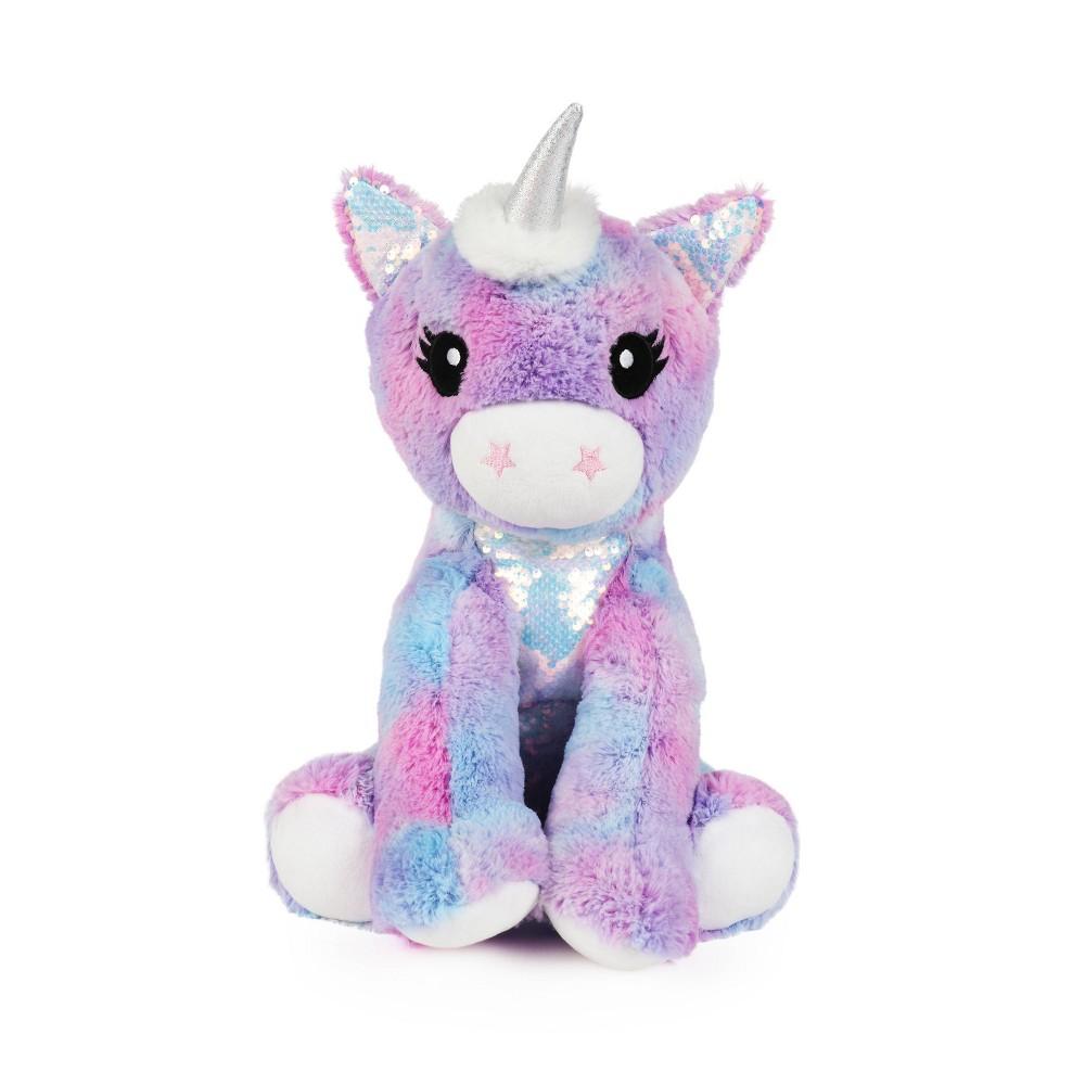 Image of Unicorn Figural Throw Pillow