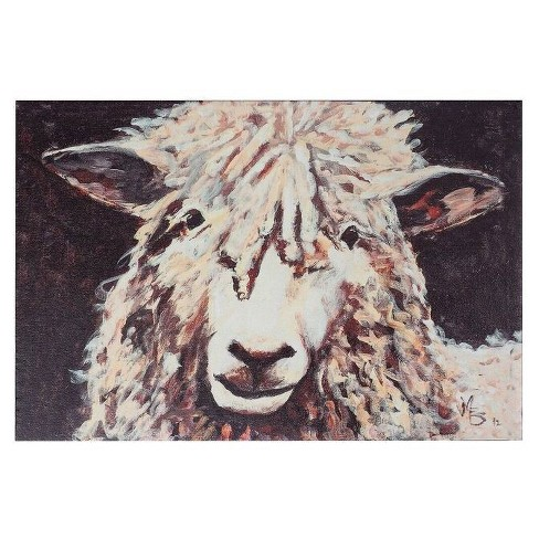 Sheep Canvas Wall Décor - 3R Studios - image 1 of 1