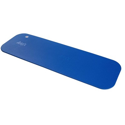 Airex 32-1238B Coronella 185 Workout Exercise Fitness Non Slip 0.6 Inch Thick Foam Floor Mat Pad for Yoga or Pilates at Home or Gym, Blue